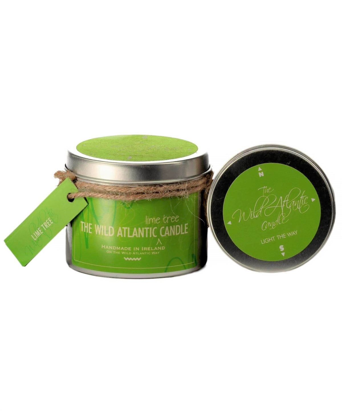 Lime Tree - [Wild Atlantic Candles] - Home Fragrance - Irish Gifts