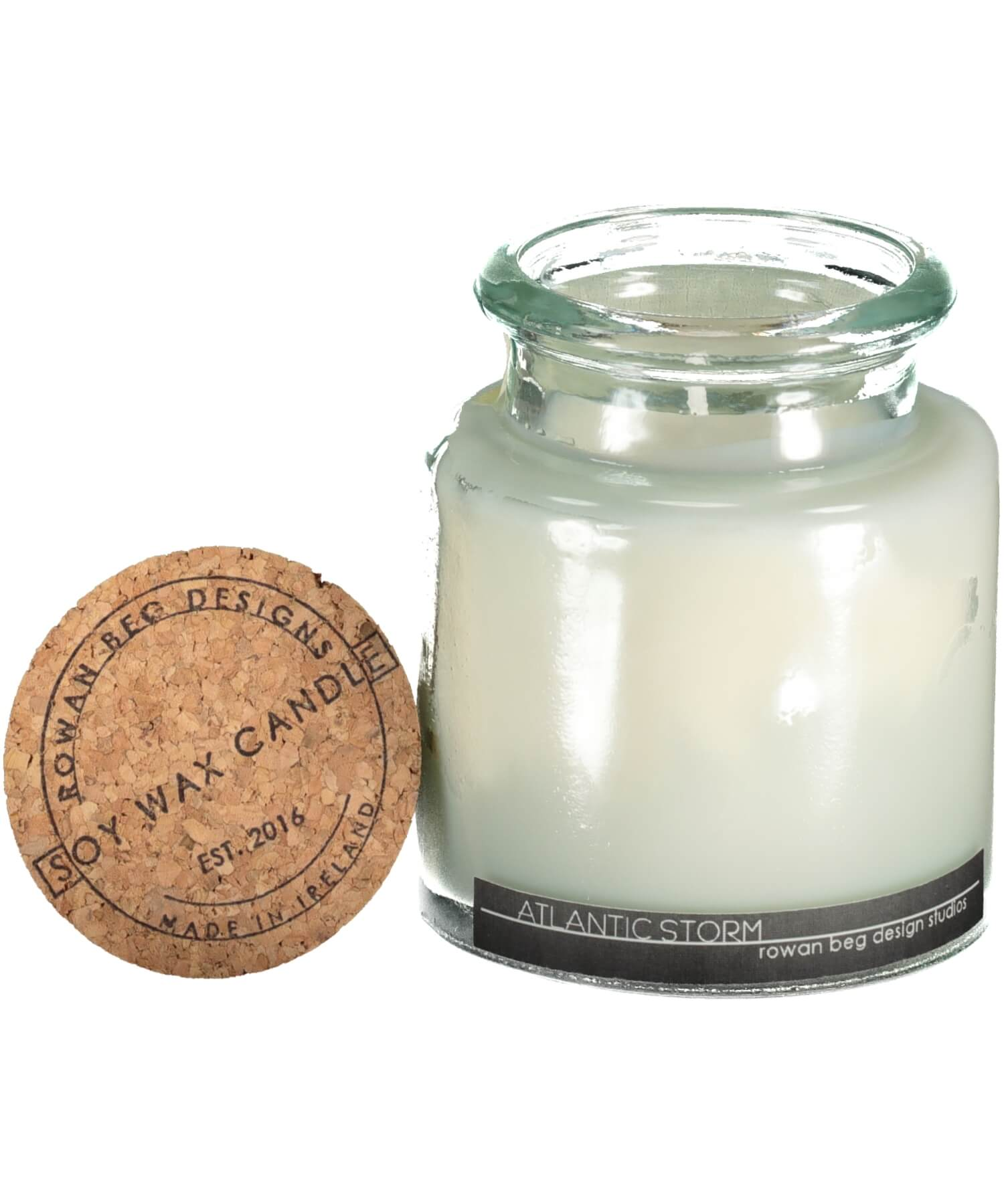 Classic Candle - Wild Atlantic Storm - [Rowan Beg] - Home Fragrance - Irish Gifts