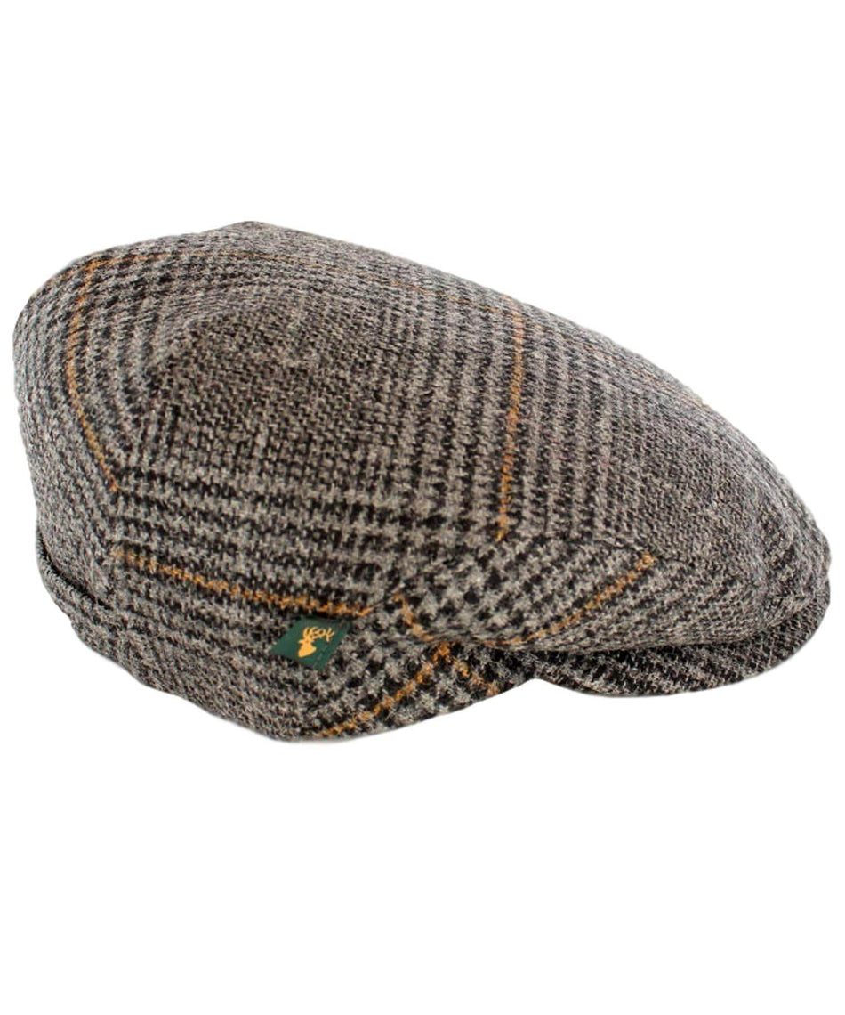 Trinity Cap - Classic Check - [Mucros Weavers] - Mens Hats & Headwear - Irish Gifts