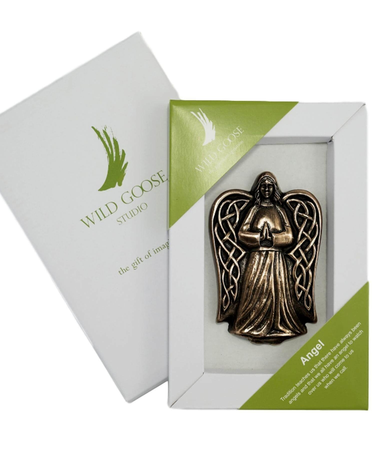 Gift Boxed Emblem - Angel - [Wild Goose] - Wall Art & Photography - Irish Gifts