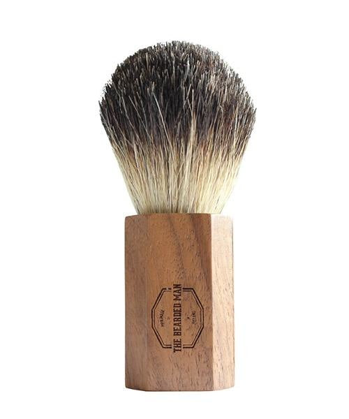 Badger Hair Shaving Brush - [The Bearded Man] - Skincare & Beauty - Irish Gifts