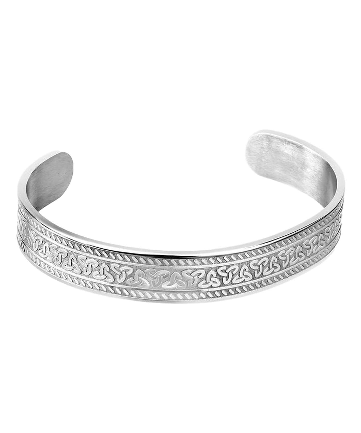 Trinity Knot Bangle Solvar Celtic Jewellery