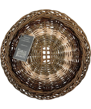 Irish Ciseog - Grid (small) - [Saille Baskets] - Wood & Slate - Irish Gifts