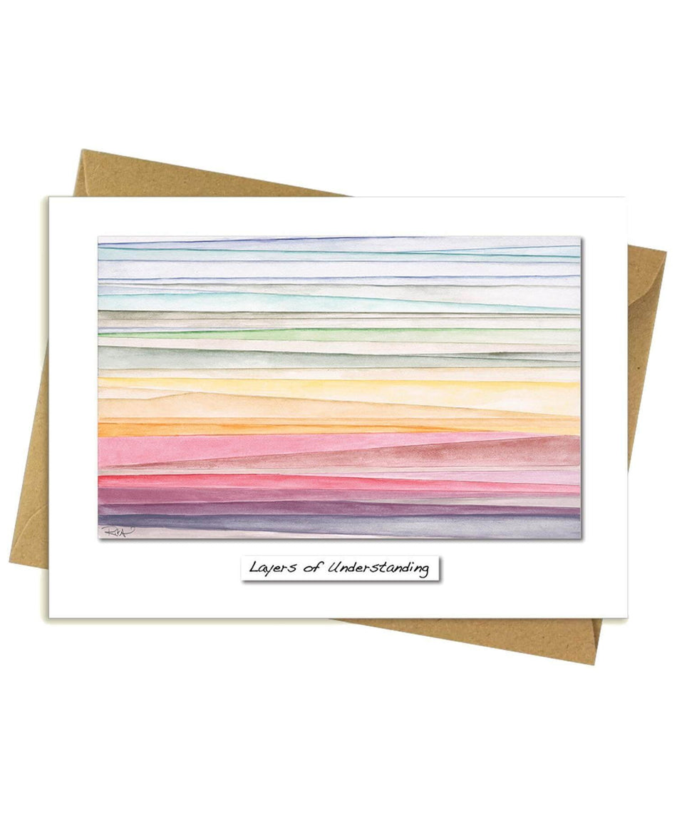 Greeting Card - Layers of Understanding - [Rita Oates] - Greeting Cards - Irish Gifts