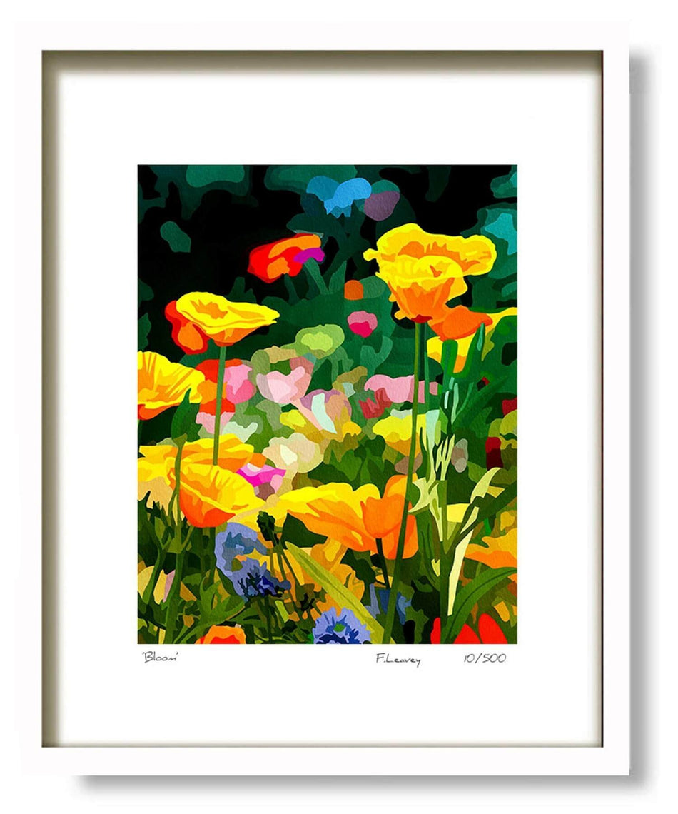 Framed Print - Bloom - [Fab Cow] - Wall Art & Photography - Irish Gifts
