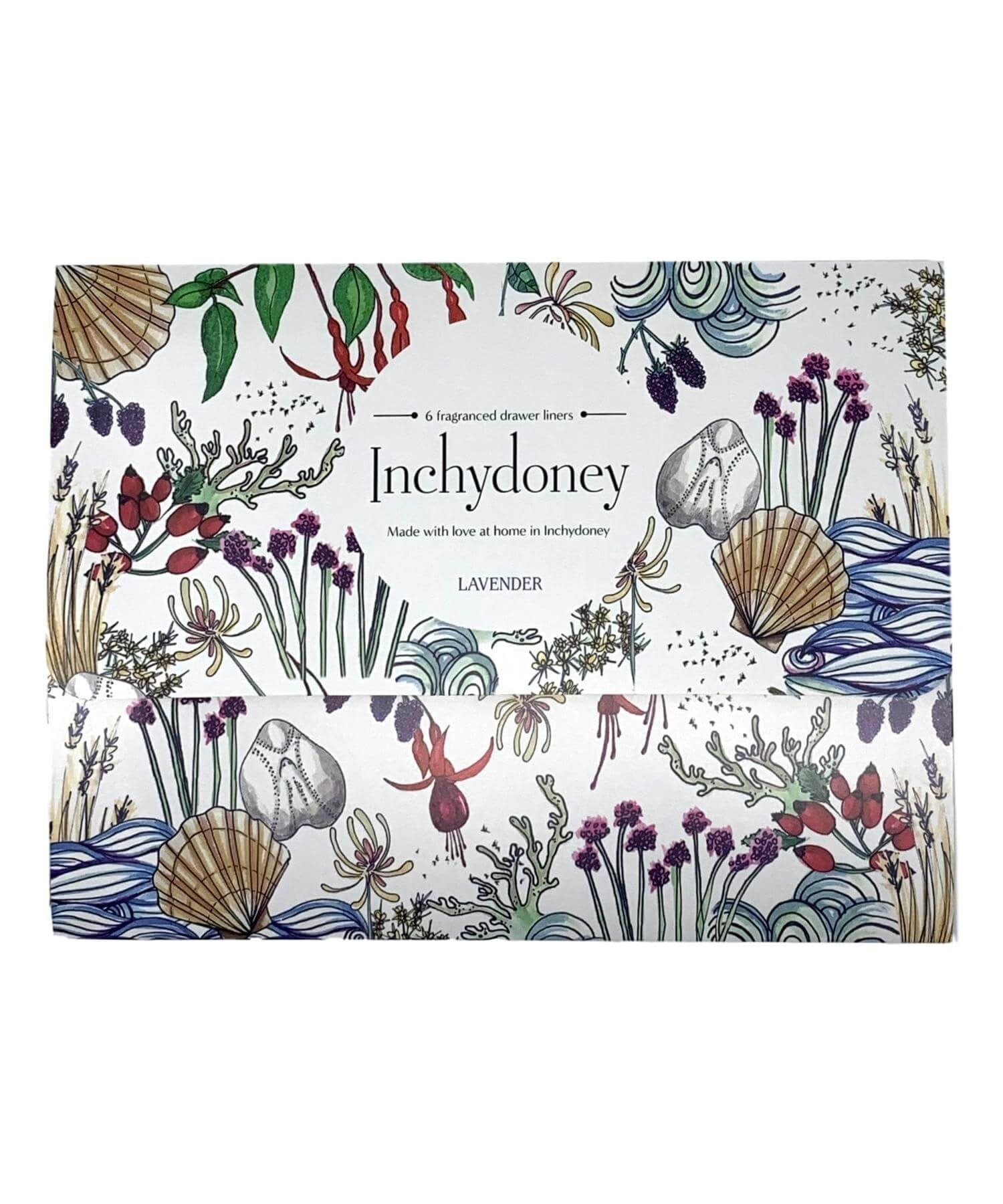 Scented Drawer Liners - Lavender - [Inchydoney Candles] - Home Fragrance - Irish Gifts