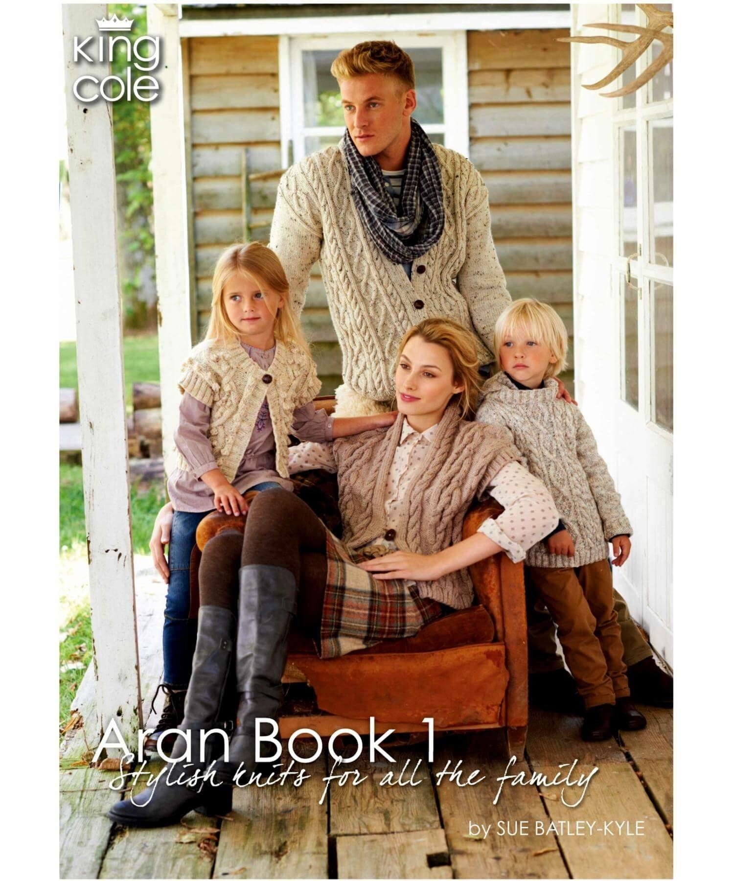 King Cole Aran Book 1 - [Springwools] - Knitting - Irish Gifts