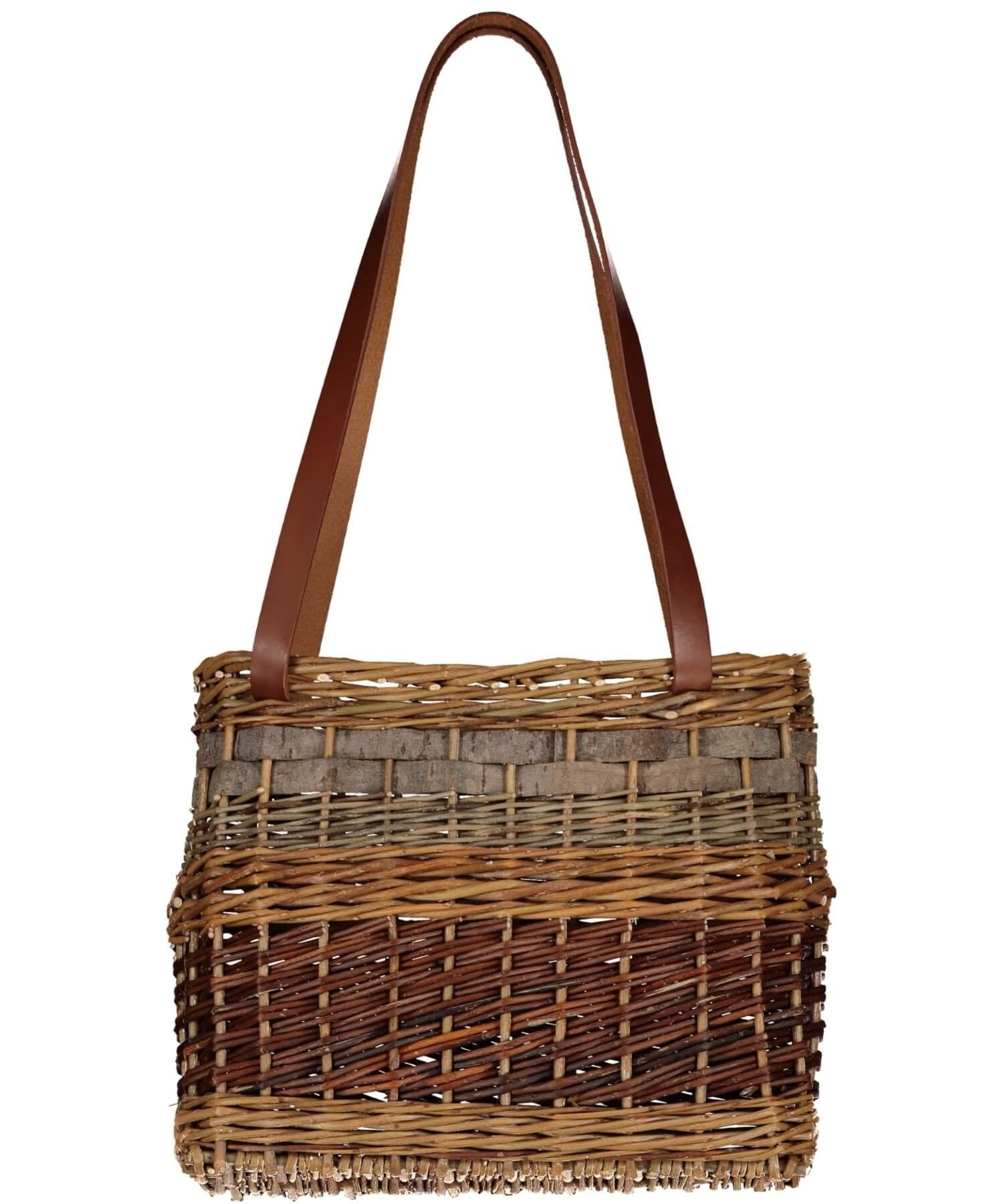 Willow Tote Saille Baskets Wood & Slate