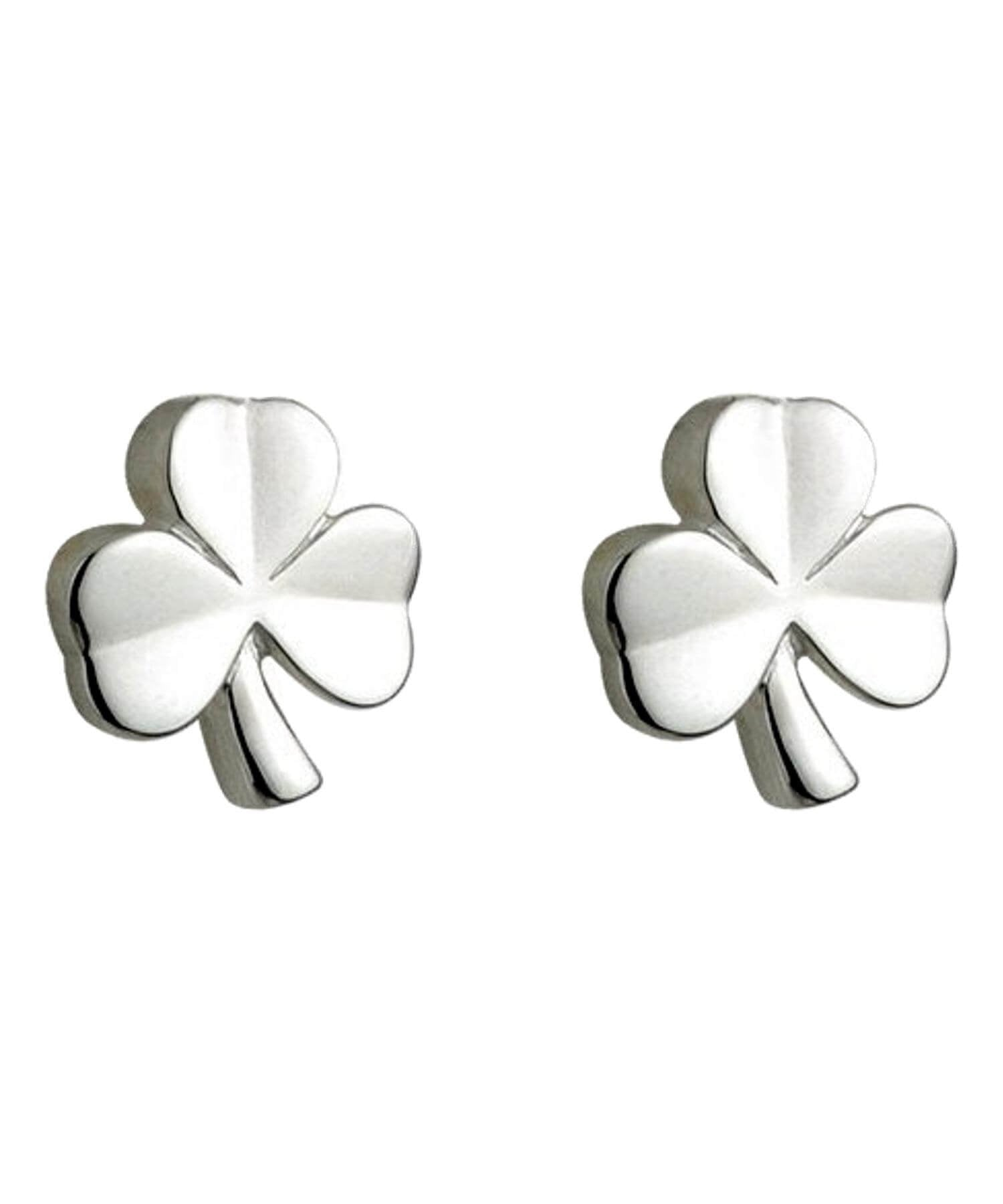 Solvar Kids - Shamrock Stud Earrings Celtic Jewellery