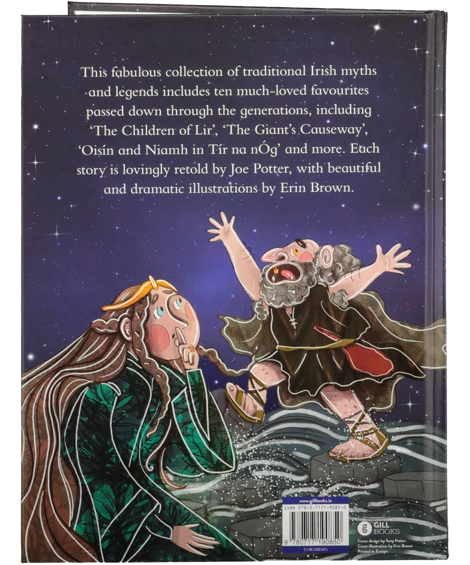 The Big Book of Favourite Irish Myths and Legends - [Gill & MacMillan] - Books & Stationery - Irish Gifts
