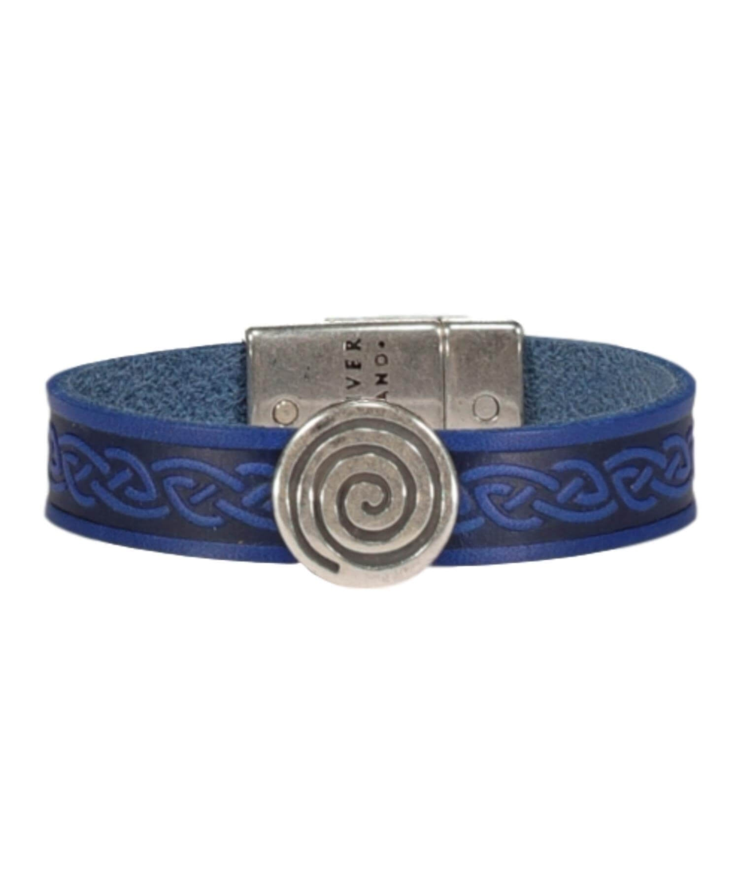 Spiral Cuff - Blue - [Lee River] - Jewellery - Irish Gifts