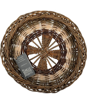 Irish Ciseog - Wheel (small) - [Saille Baskets] - Wood & Slate - Irish Gifts