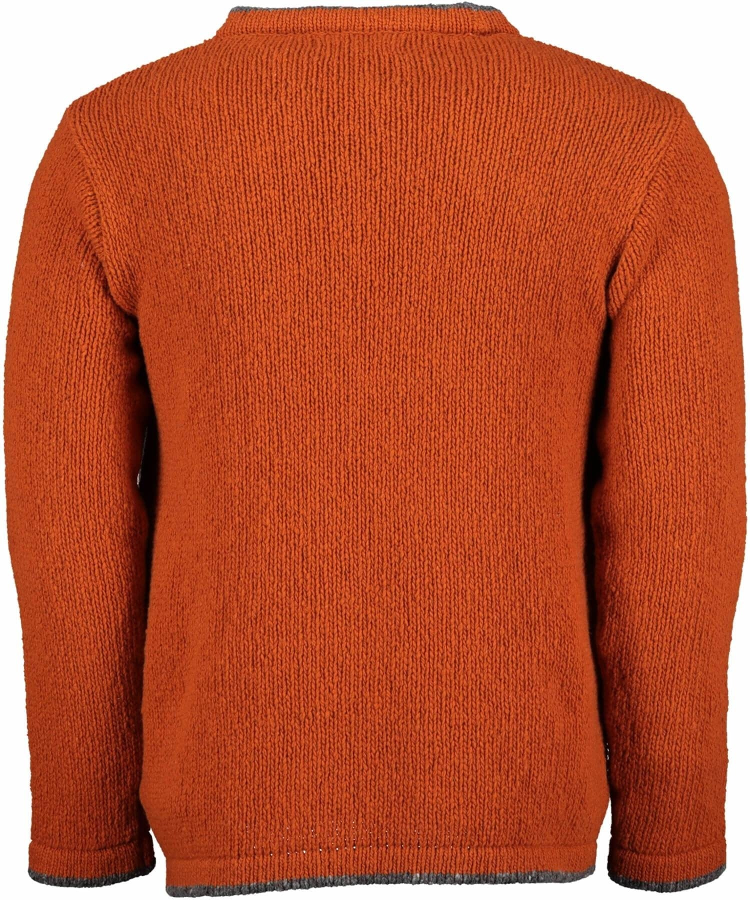 Roundstone Sweater - Terra Cotta Irelands Eye Mens Sweaters & Cardigans