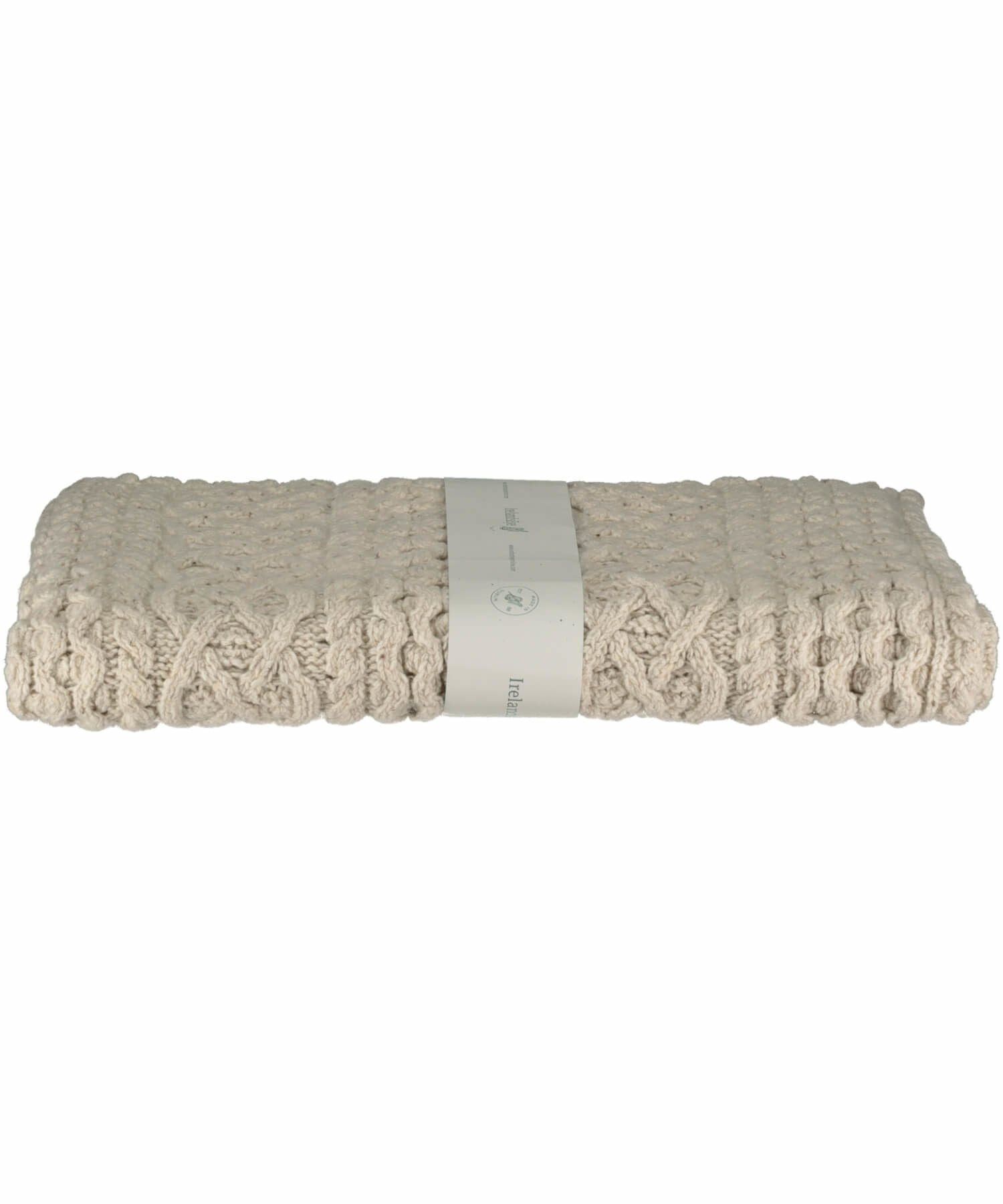 Cashmere Wool Throw - Chalkstone - [Irelands Eye] - Throws & Cushions - Irish Gifts