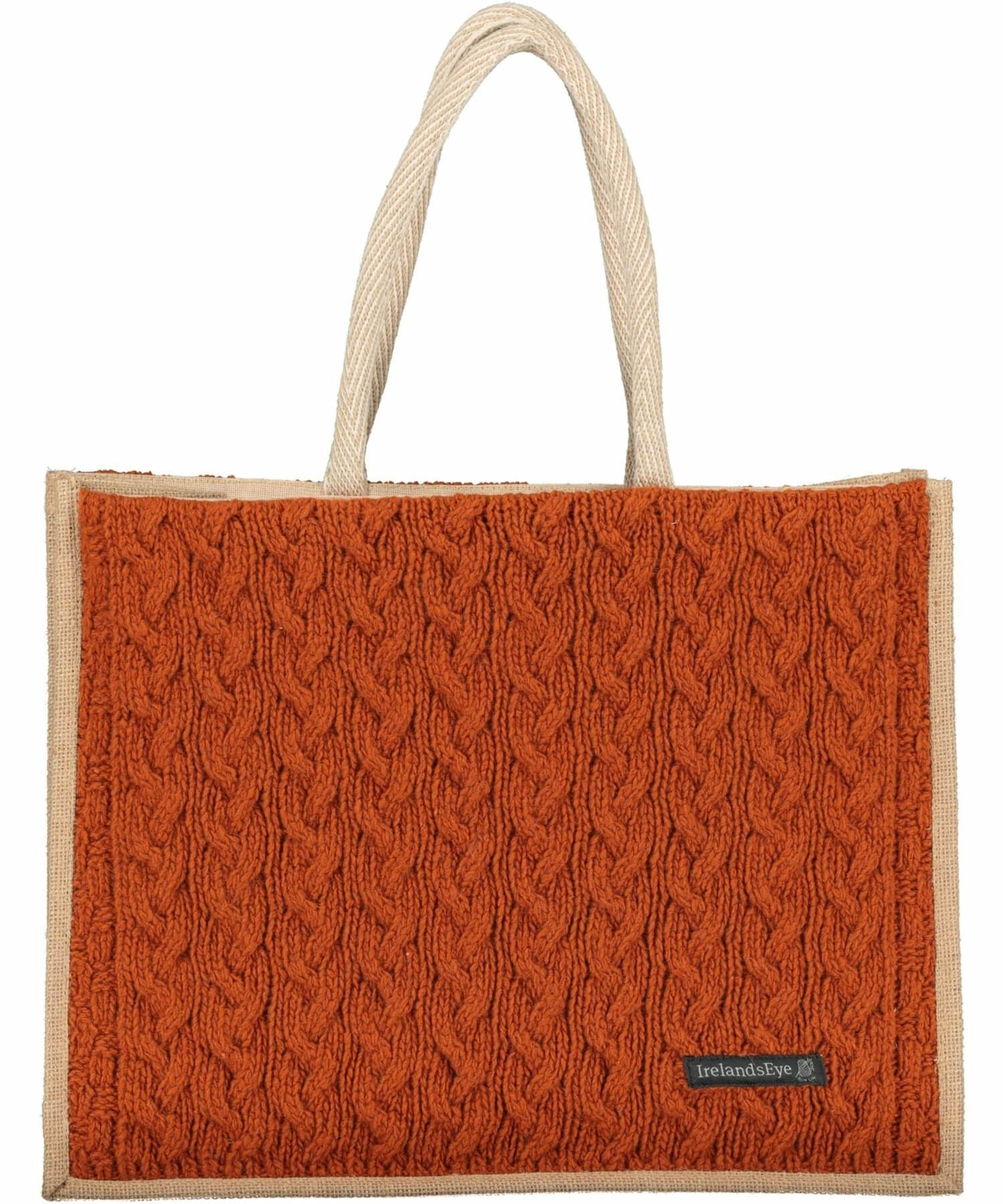 Luxe Cable Bag - Terra Cotta - [Irelands Eye] - Bags, Purses & Wallets - Irish Gifts
