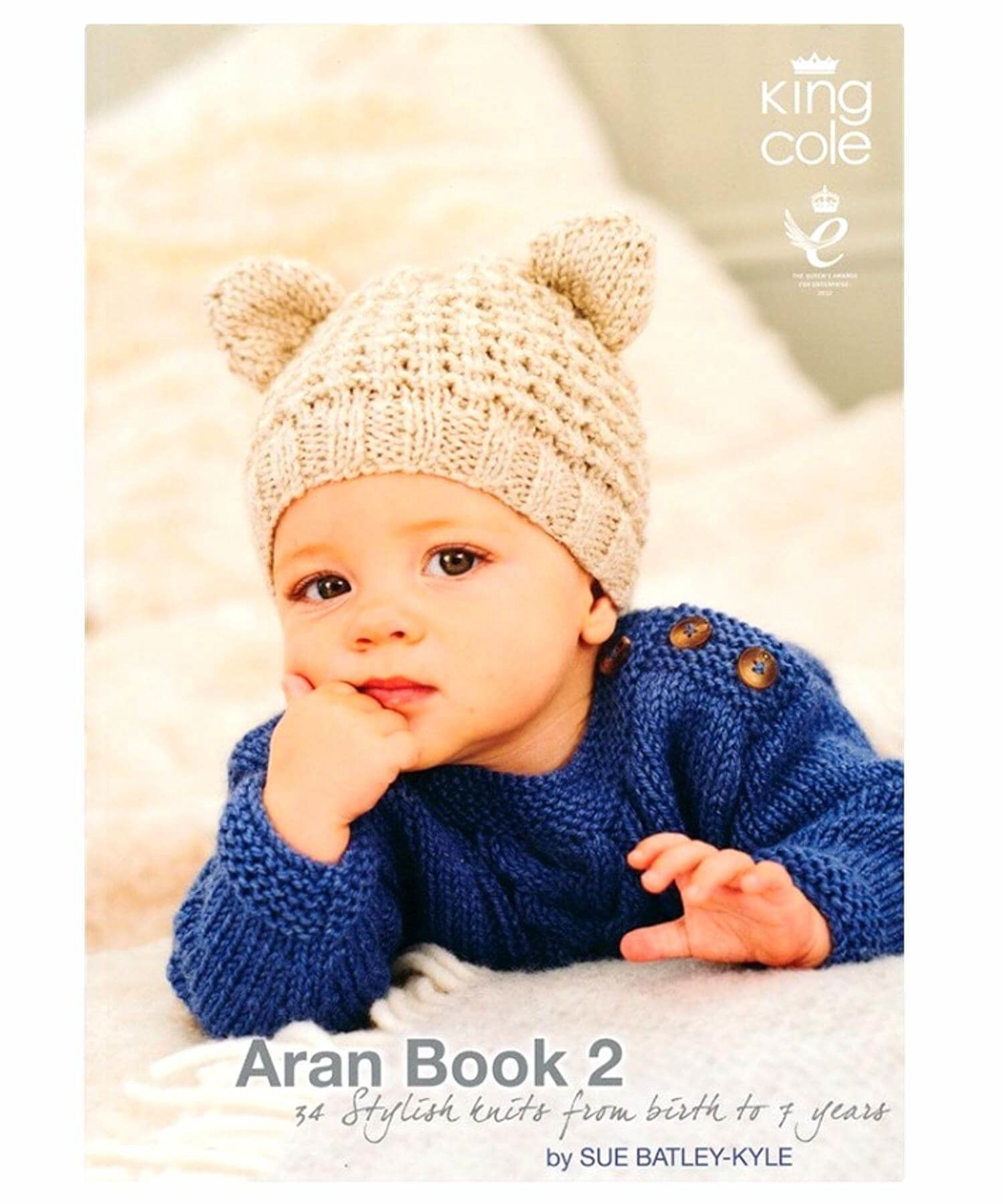 King Cole Aran Book 2 - [Springwools] - Knitting - Irish Gifts