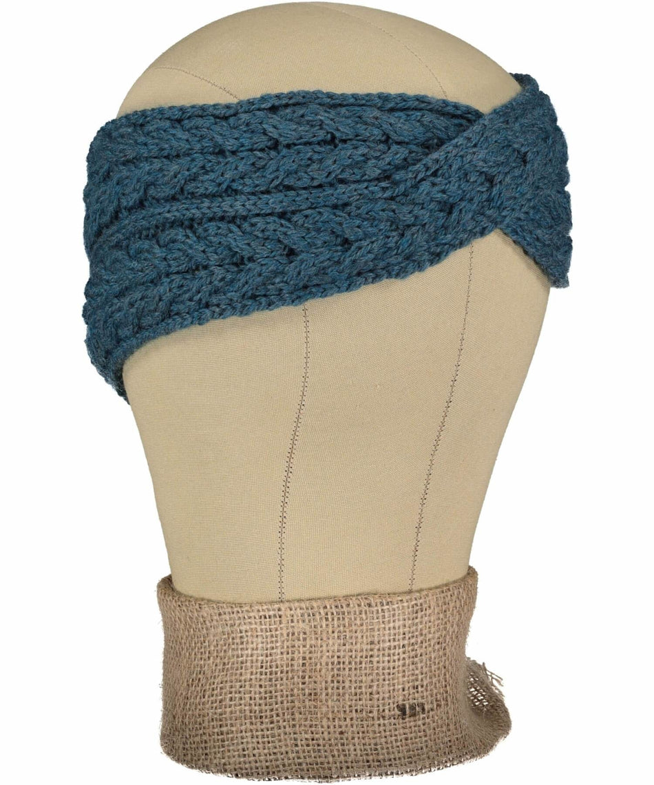 Supersoft Headband - Sea Green - [Aran Woollen Mills] - Ladies Hats & Headbands - Irish Gifts