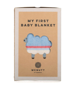 Baby Blanket - Little Boy Blue - [McNutts] - Throws & Cushions - Irish Gifts