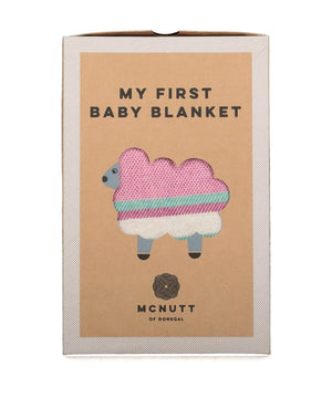 Baby Blanket - Sugar Pink - [McNutts] - Throws & Cushions - Irish Gifts
