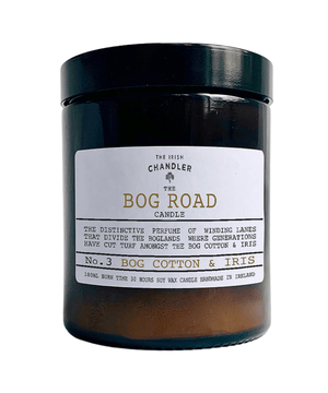 Amber Glass Candle - Bog Road - [The Irish Chandler] - Home Fragrance - Irish Gifts