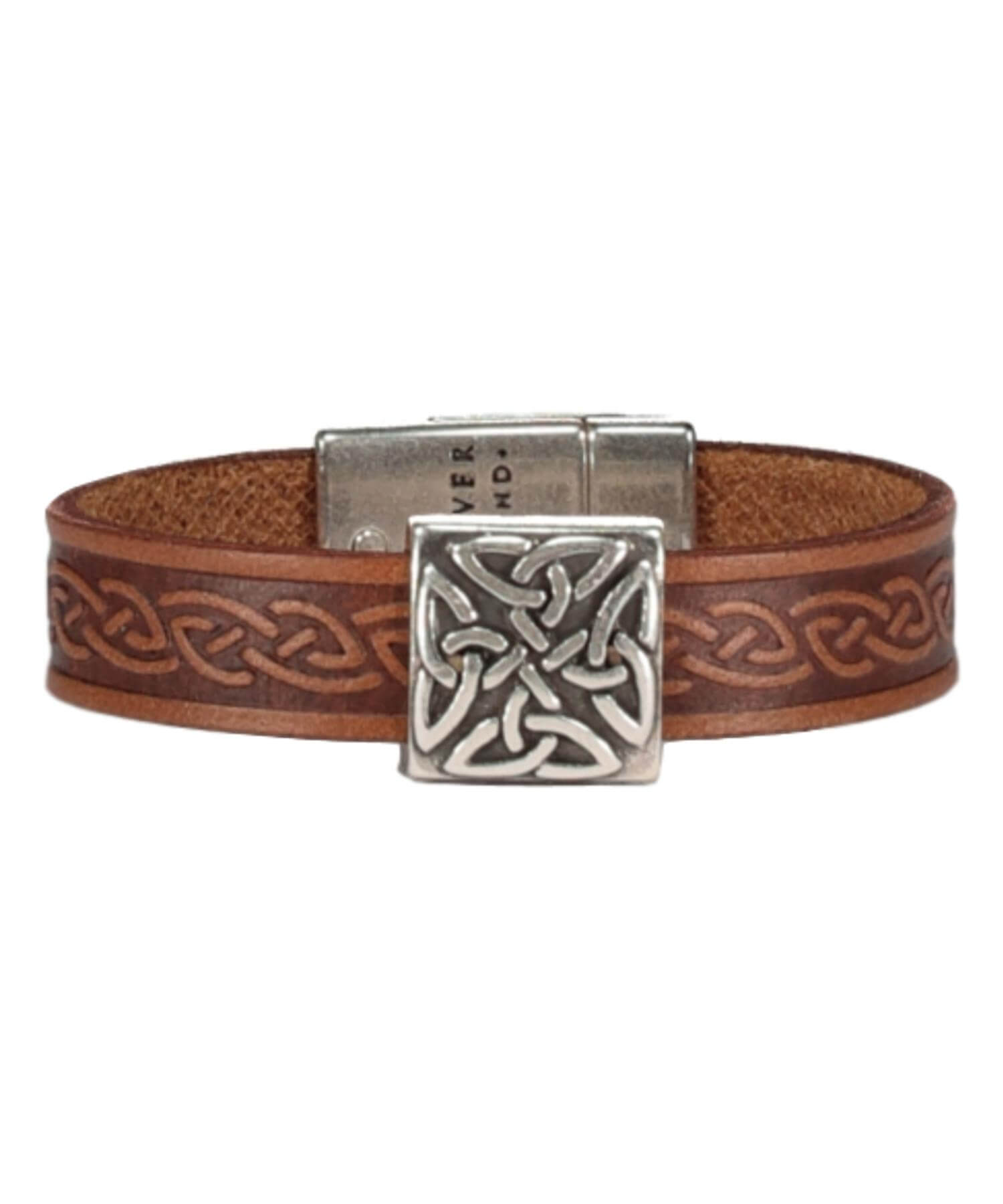 Braden Cuff - Brown - [Lee River] - Jewellery - Irish Gifts