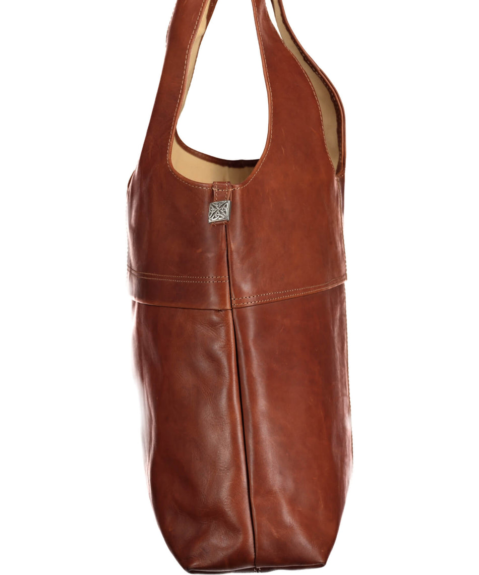 Braden Leather Shopper - Tan - [Lee River] - Bags, Purses & Wallets - Irish Gifts