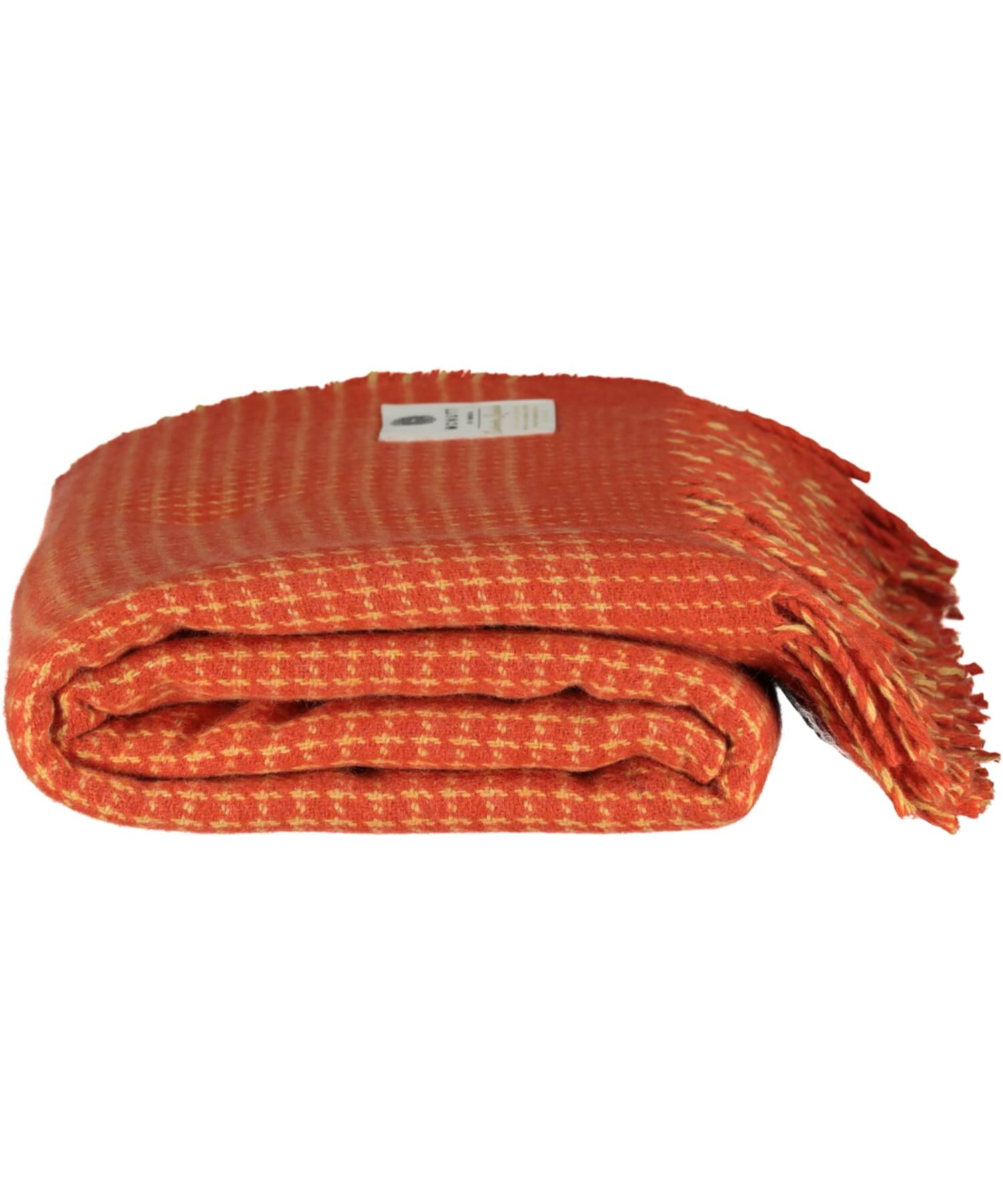 Cashmere Lambswool Throw - Sunset - [McNutts] - Throws & Cushions - Irish Gifts
