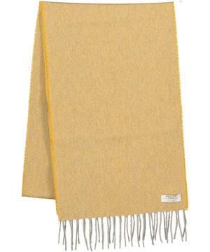 Cashmere Scarf - Amber Yellow - [McNutts] - Ladies Scarves & Gloves - Irish Gifts