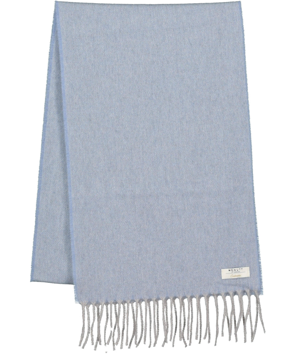 Cashmere Scarf - Chalk Blue - [McNutts] - Ladies Scarves & Gloves - Irish Gifts