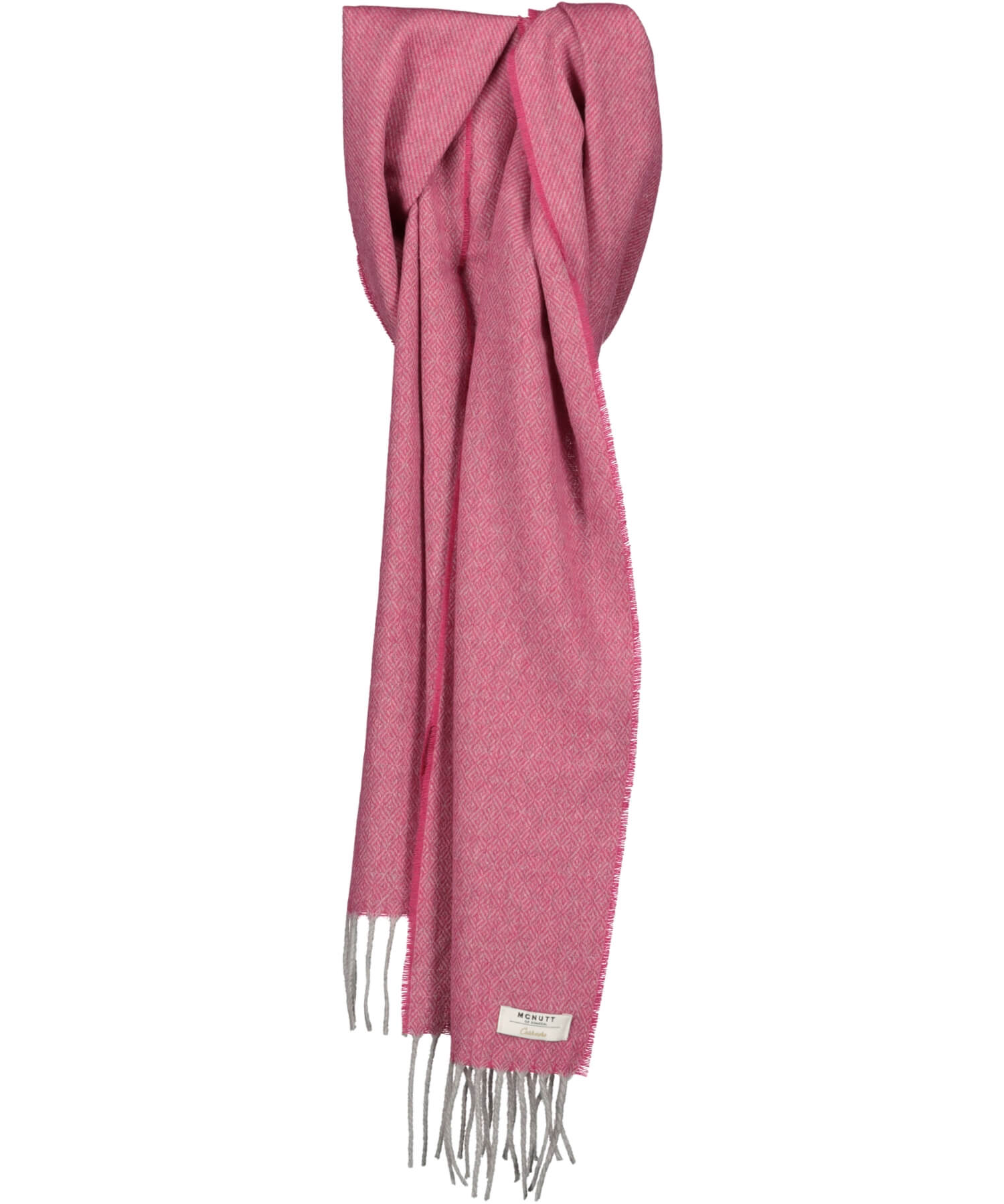 Cashmere Scarf - Hot Pink - [McNutts] - Ladies Scarves & Gloves - Irish Gifts