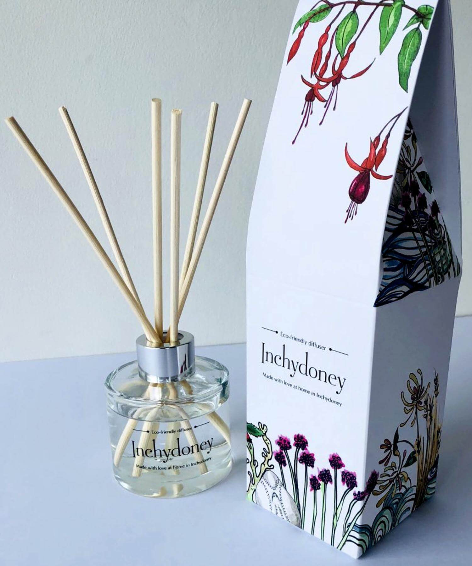 Diffuser - Fresh Cotton - [Inchydoney Candles] - Home Fragrance - Irish Gifts