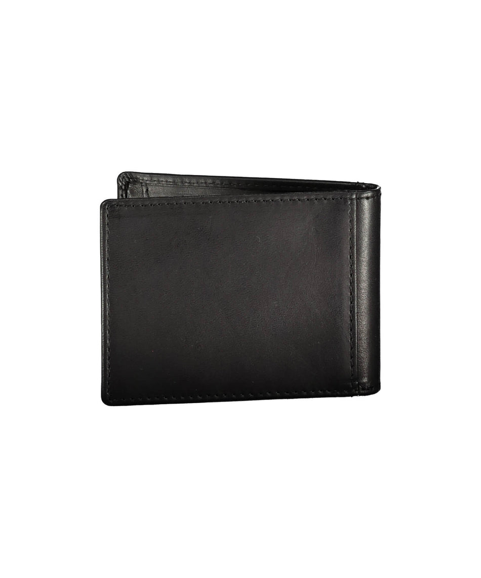 Feargal Celtic Knot Clip Wallet - Black - [Lee River] - Bags, Purses & Wallets - Irish Gifts