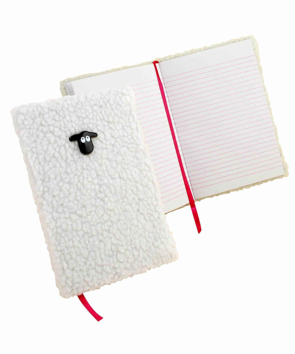Fluffy Sheep - Notebook - [Killarney Printing] - Souvenir - Irish Gifts
