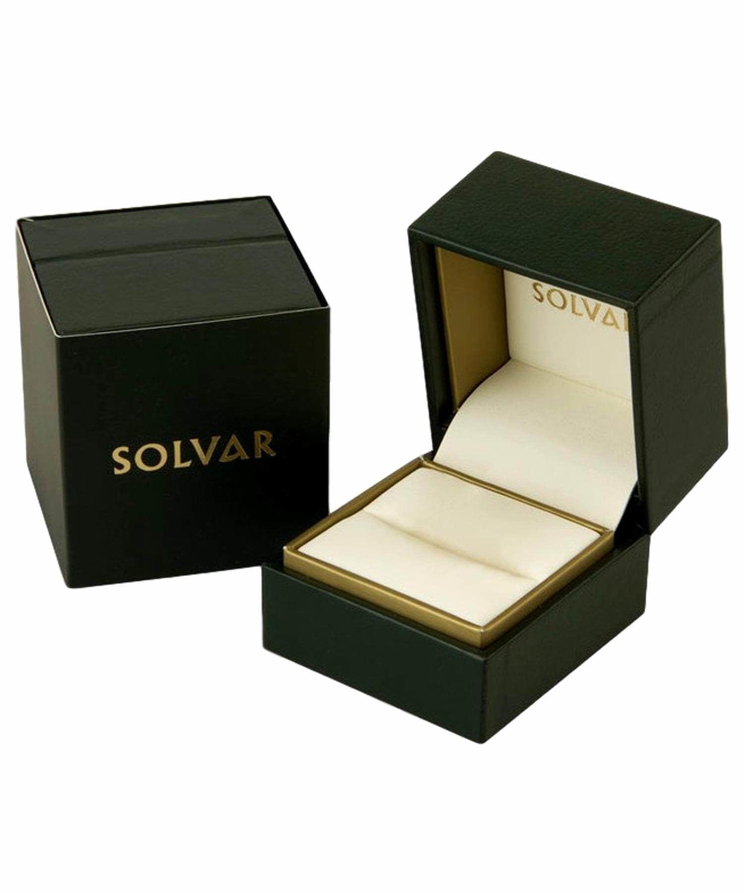 Gold Trinity Knot Ring - [Solvar] - Jewellery - Irish Gifts