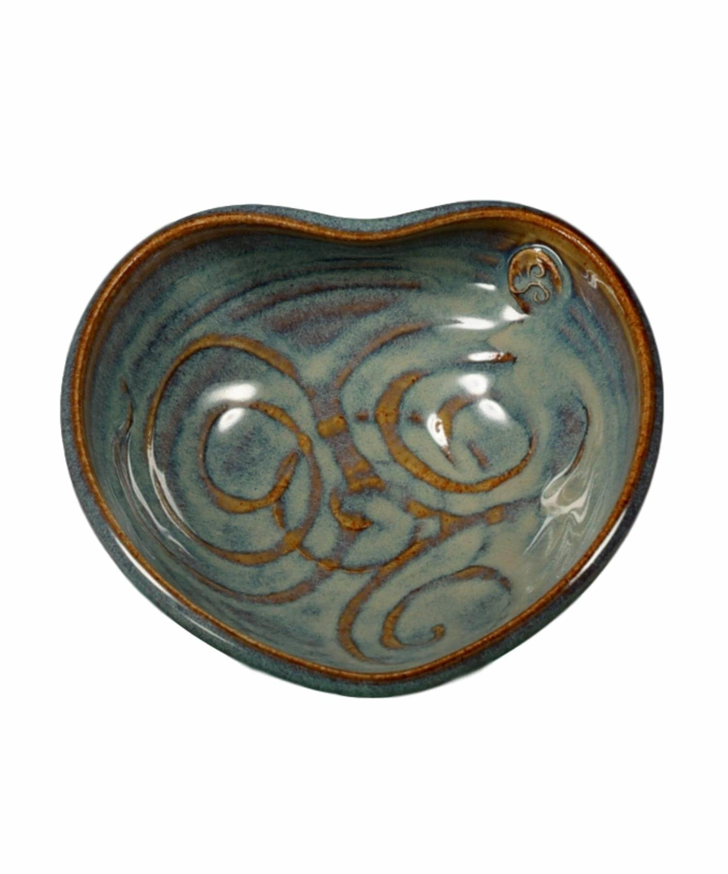 Glas - Heart Bowl (small) - [Castle Arch] - Pottery & Ceramics - Irish Gifts