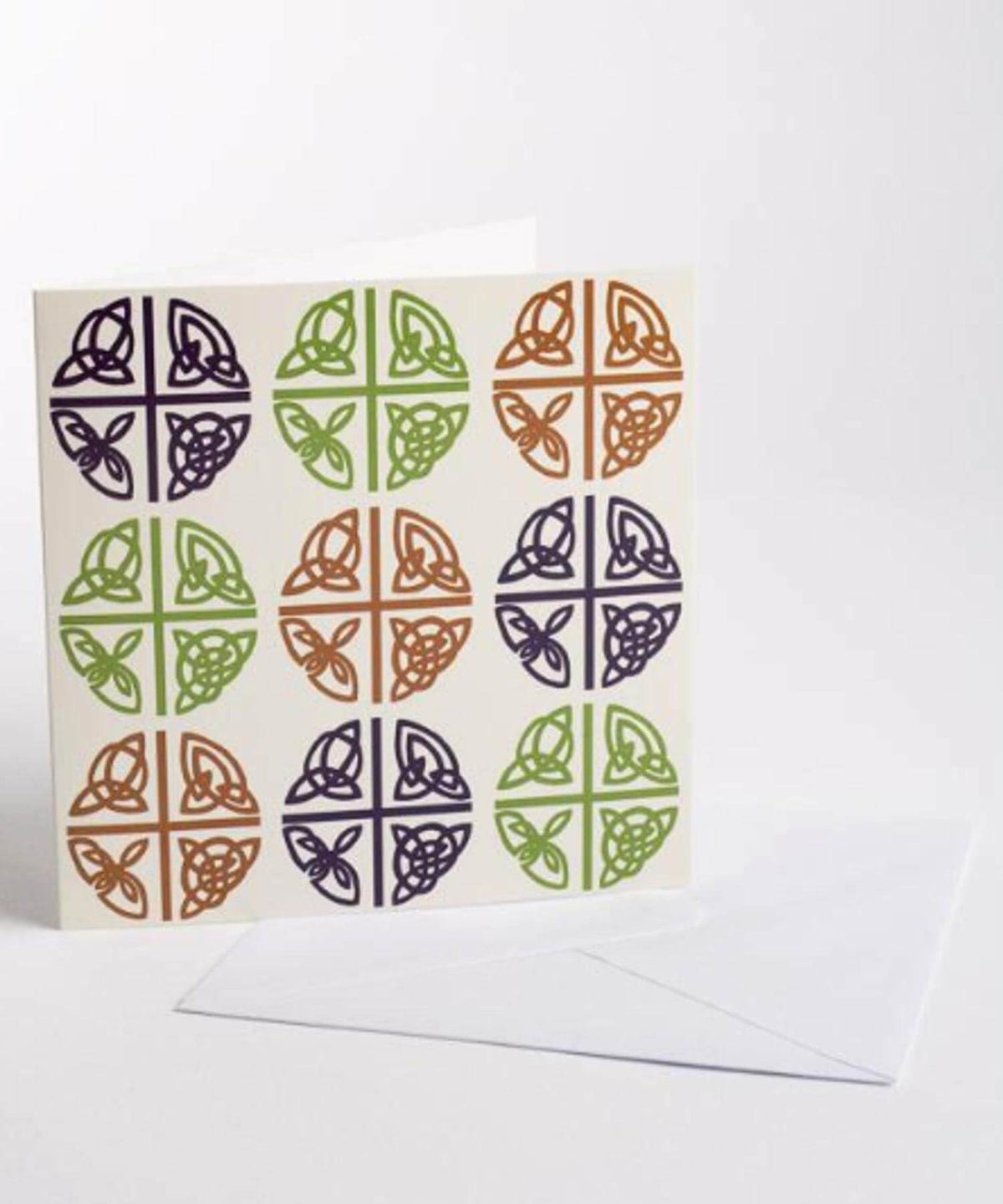 Greeting Card (pack) - Celtic Love Cross - [Wild Goose] - Greeting Cards - Irish Gifts