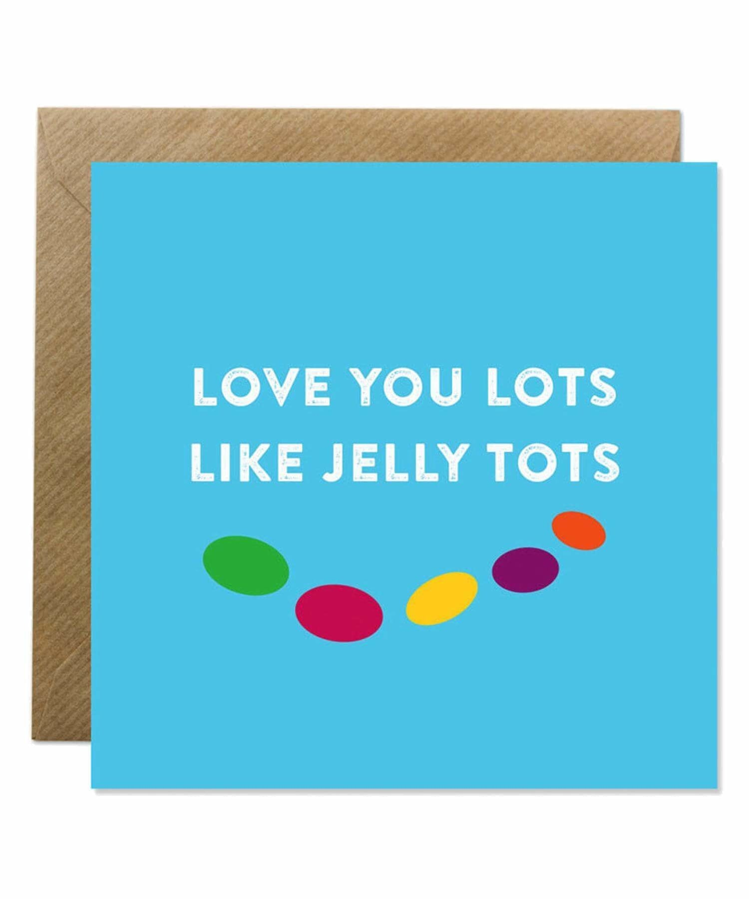 Greeting Card - Jelly Tots Bold Bunny Cards