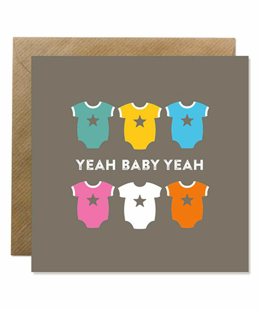 Greeting Card - Yeah Baby Bold Bunny Cards