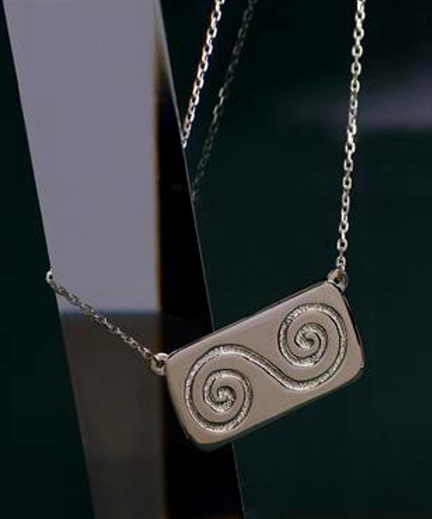 Growth - Silver Necklace - [Native] - Jewellery - Irish Gifts
