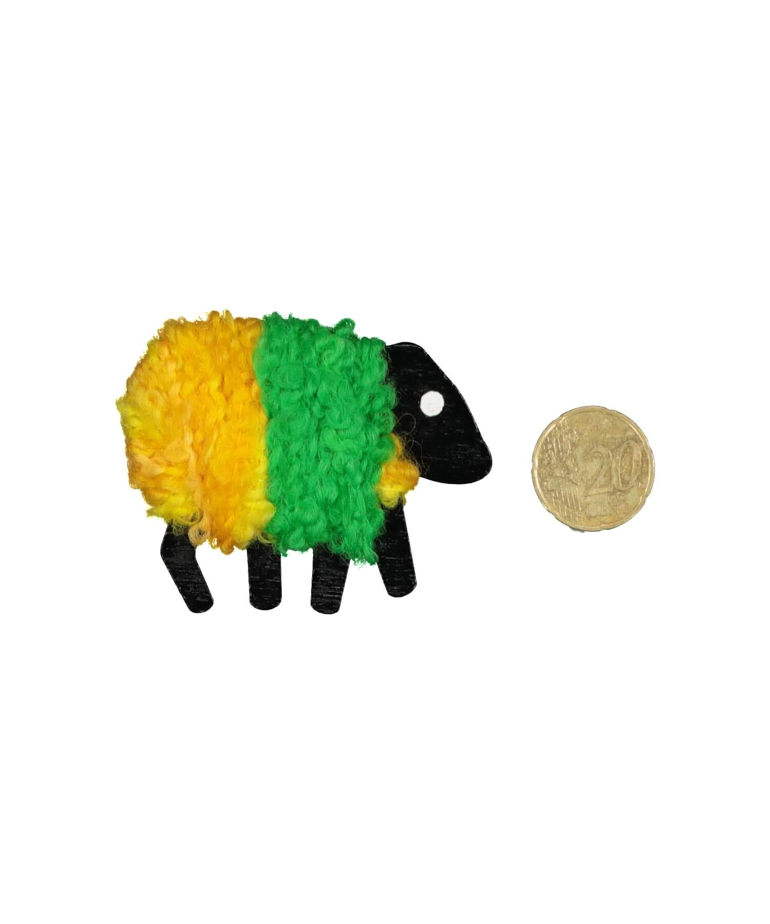 Handcrafted Sheep - Magnet - [Liz Christy] - Souvenir - Irish Gifts