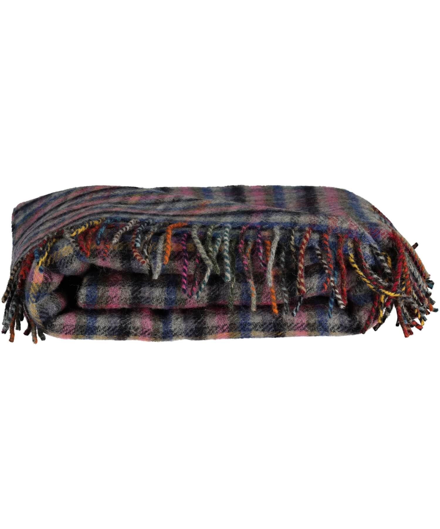 Home Wool Throw - Bluebell - [McNutts] - Throws & Cushions - Irish Gifts