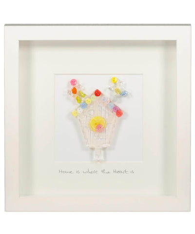 Home Is Where The Heart Is (medium) - [Button Studio] - Wall Art & Photography - Irish Gifts