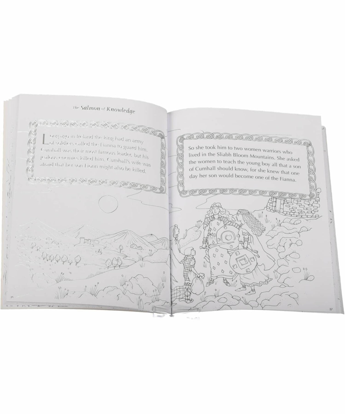 Irish Legends Colouring Book Gill & MacMillan Books