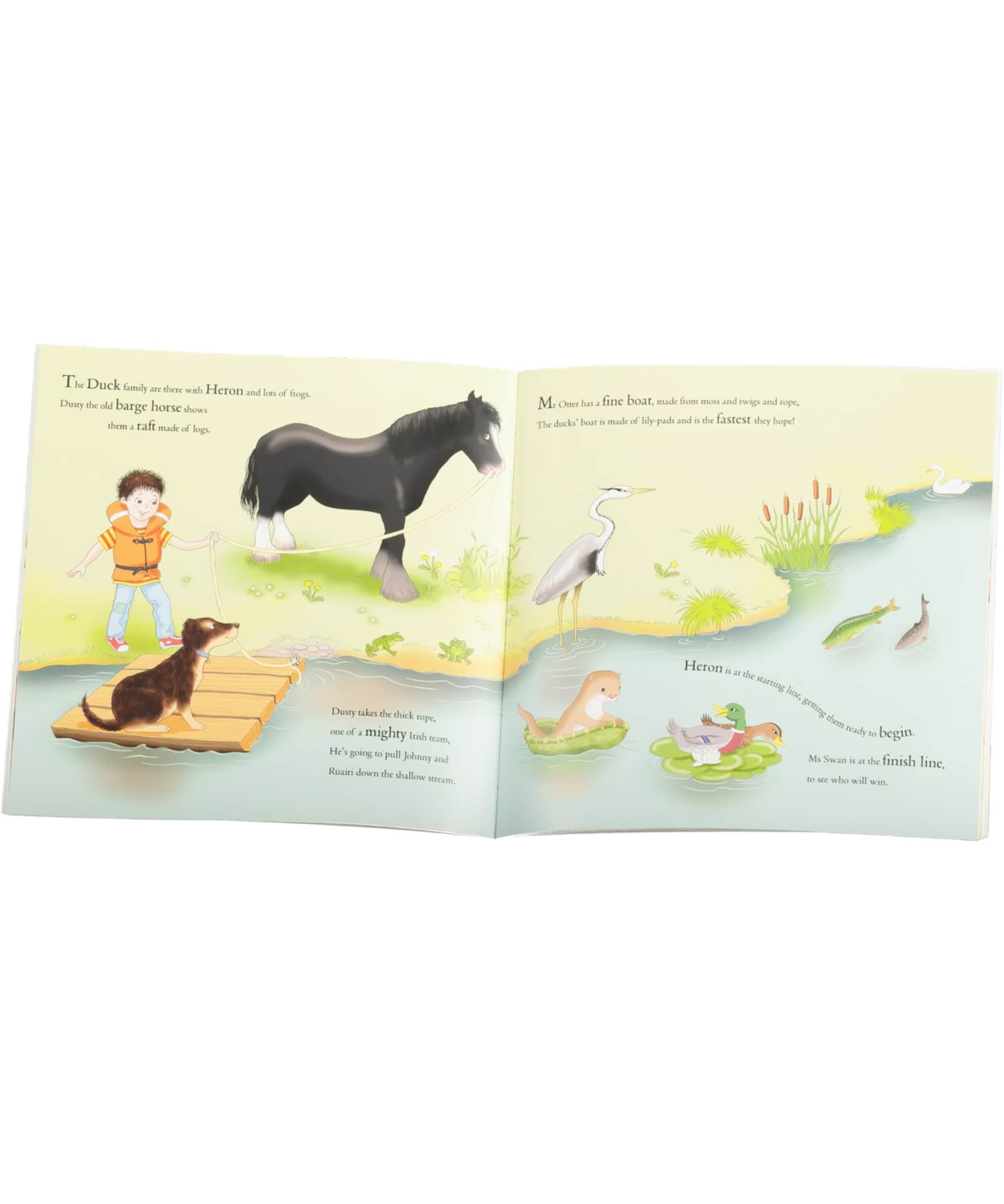 Johnny Magory and the Wild Water Race - [Johnny Magory] - Books & Stationery - Irish Gifts