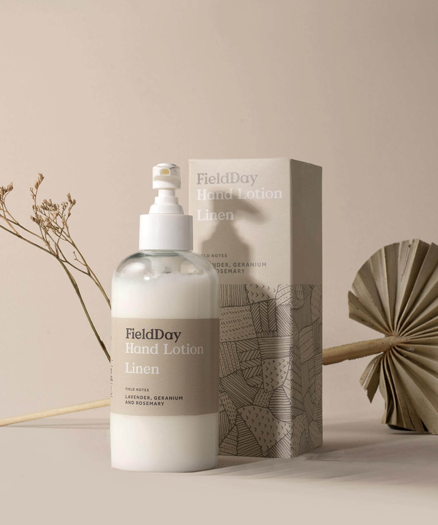 Linen Hand & Body Cream - [Field Day] - Skincare & Beauty - Irish Gifts
