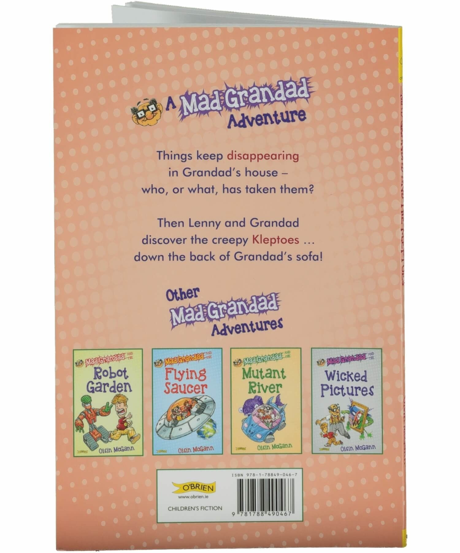 Mad Grandad and The Kleptoes - [The O'Brien Press] - Books & Stationery - Irish Gifts