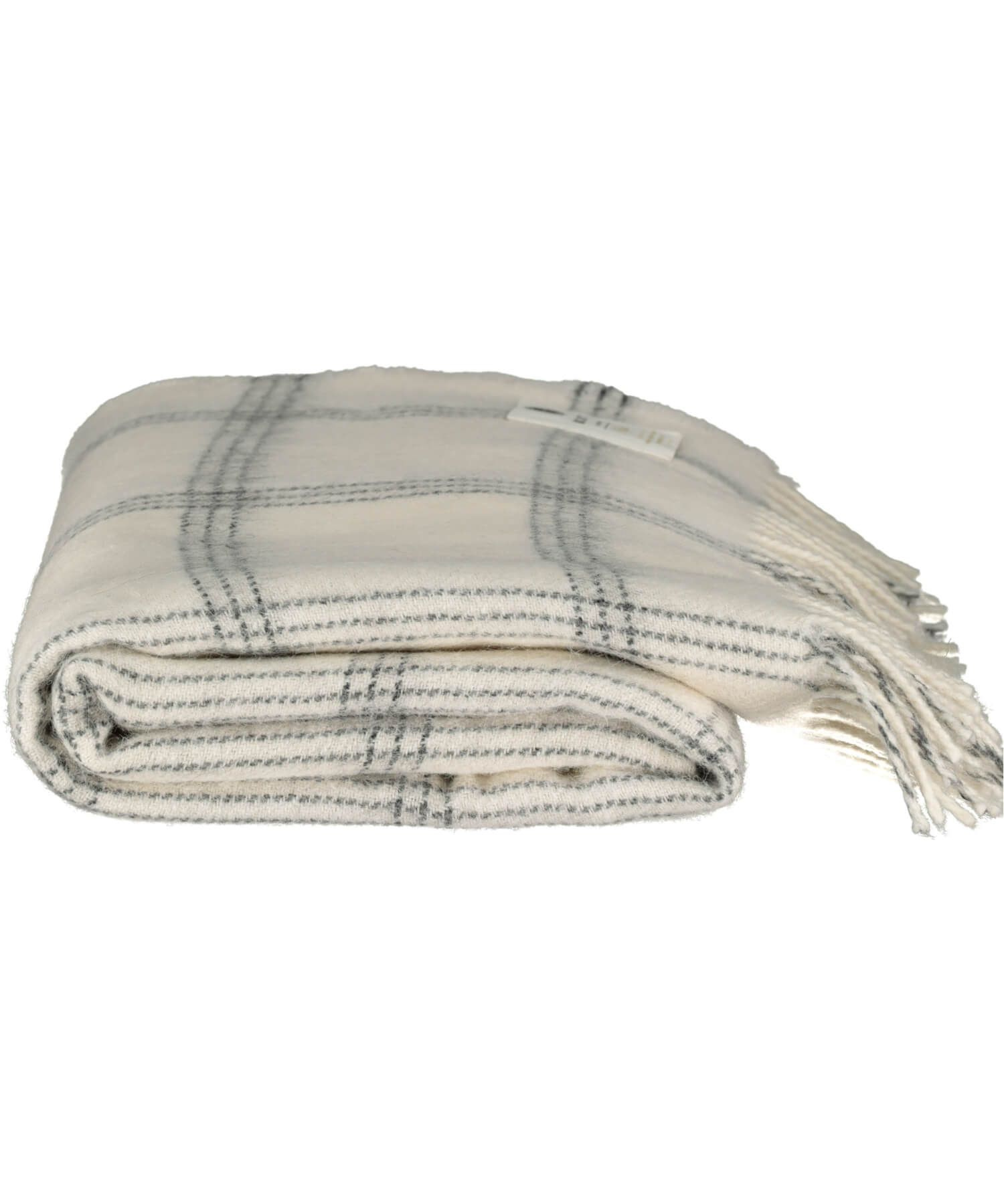 Alpaca Throw - White Pearl - [McNutts] - Throws & Cushions - Irish Gifts
