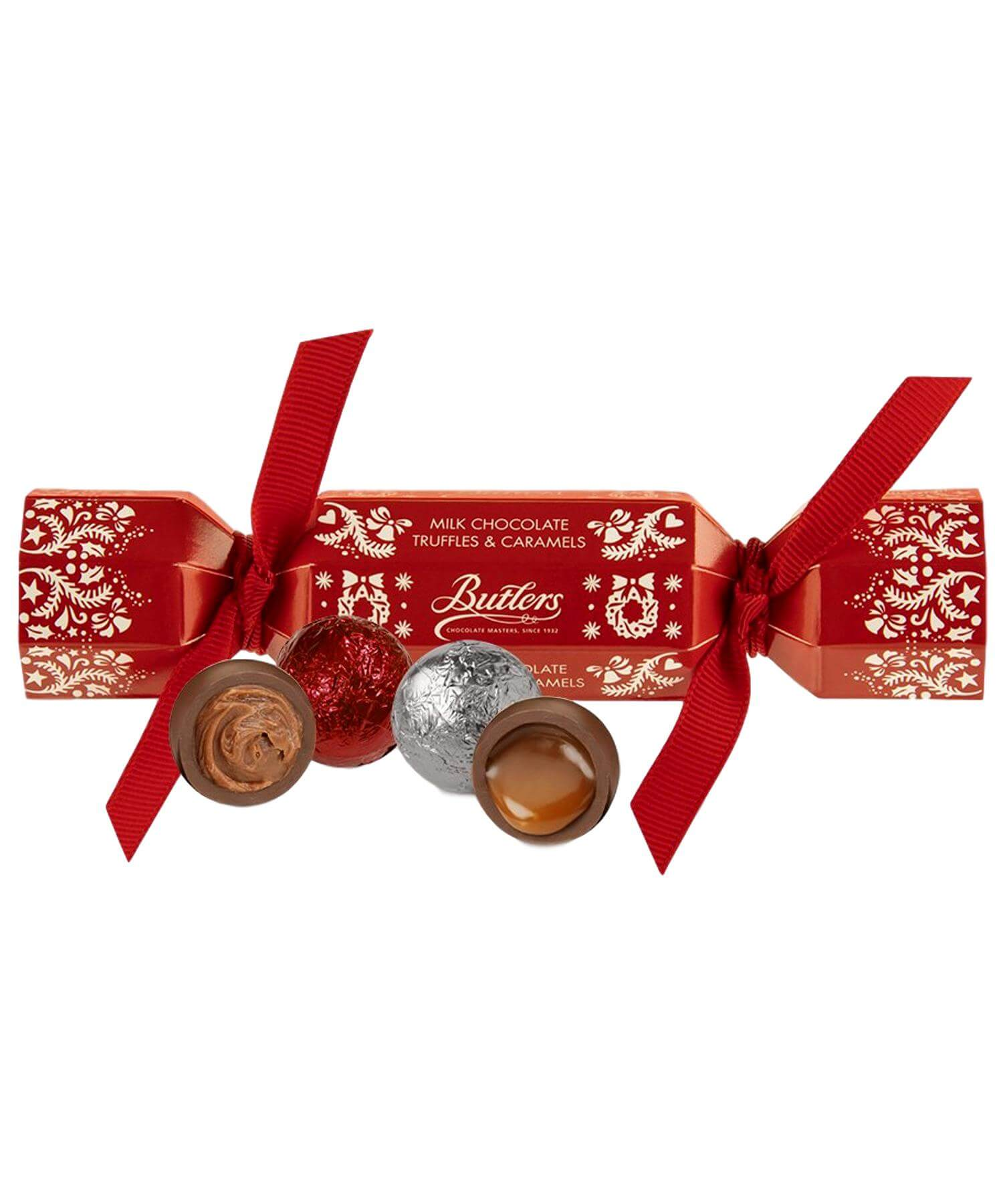 Mini Christmas Cracker - [Butlers Chocolate] - Food Gifts - Irish Gifts