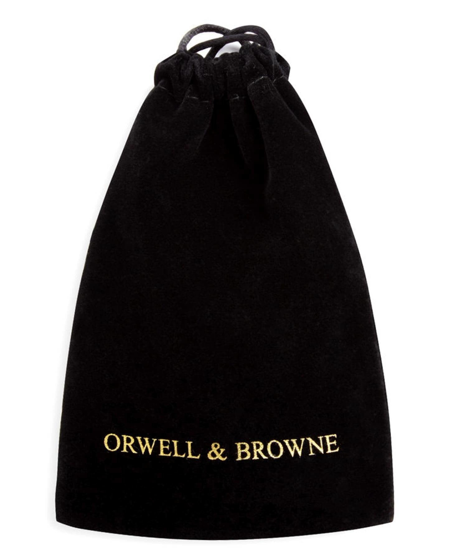 Donegal Tweed Pocket Square - Amber - [Orwell & Browne] - Mens Accessories - Irish Gifts