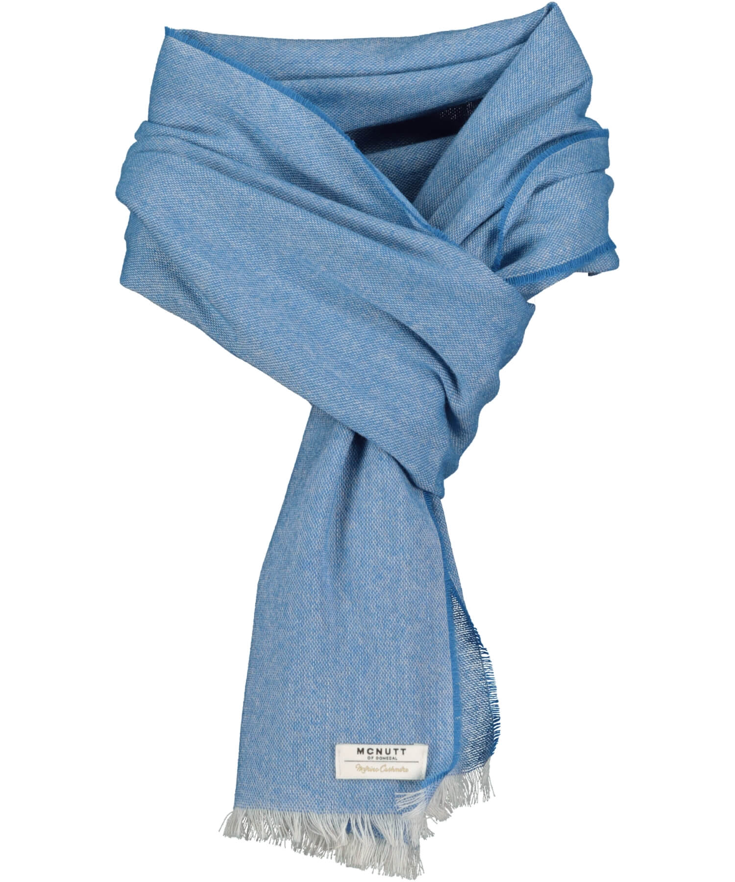 Paris Scarf - Amalfi Blue - [McNutts] - Ladies Scarves & Gloves - Irish Gifts